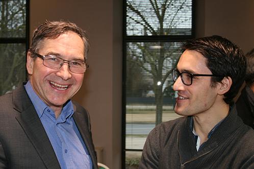 Emmanuel Pilloy, Président et Antoine Vagnon, Coordinateur d'ALISS
