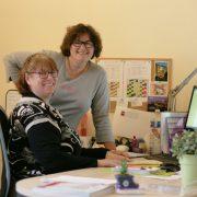 Sylvie et Nancy : l'accueil est dans les gênes  chez AméRel Pro